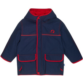 Finkid Talvi Winter Parka Kinderen, navy/red